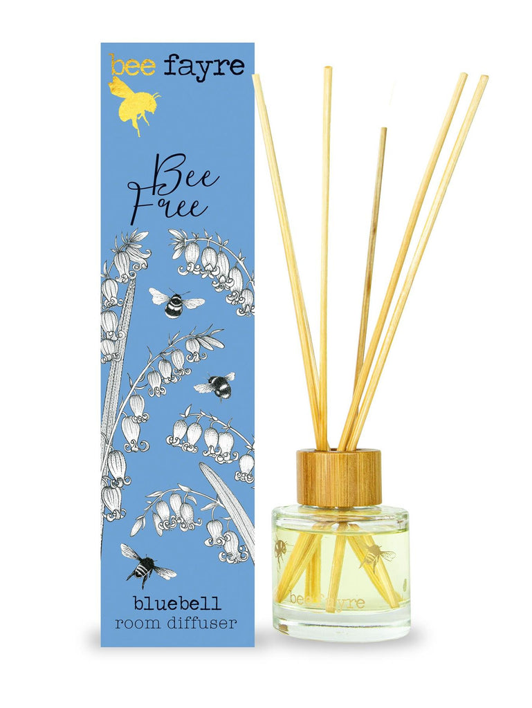 Beefayre - Bee Free - Bluebell - Room Diffuser 50ml - Alcohol Free/Vegan Friendly