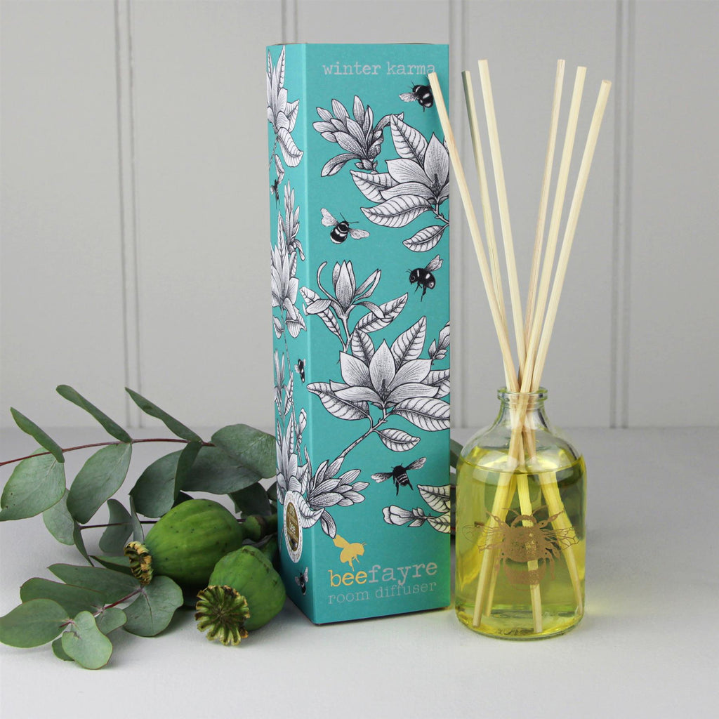 Beefayre Bee Karma - Winter Karma - Room Diffuser - 100ml - Alcohol Free/Vegan Friendly