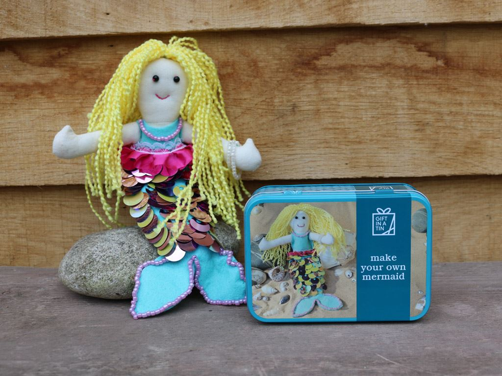 Apples To Pears - Craft - Gift In A Tin - Make Your Own Mermaid