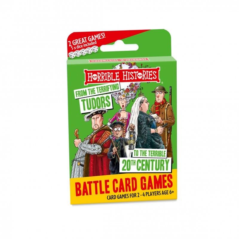 Horrible Histories - Battle Card Games - Terrifying Tudors to Terrible 20th Century