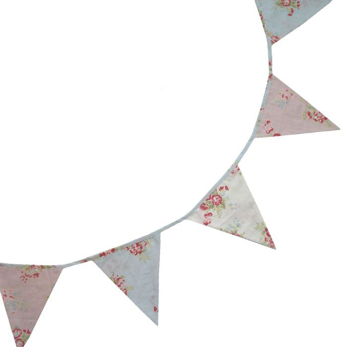Bunting - Mixed Floral - 5m - Powell Craft