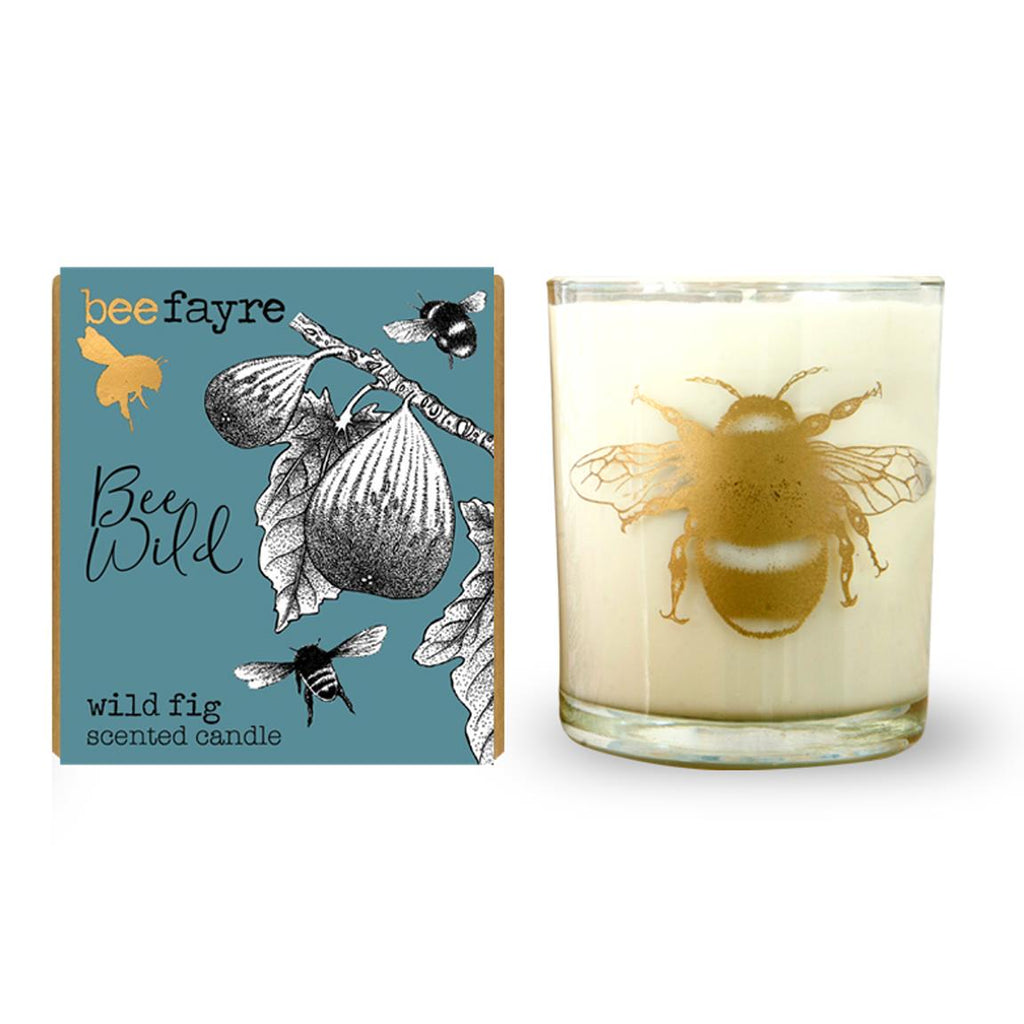 Beefayre - Bee Wild - Wild Fig - Large Scented Candle - 20cl/50hours