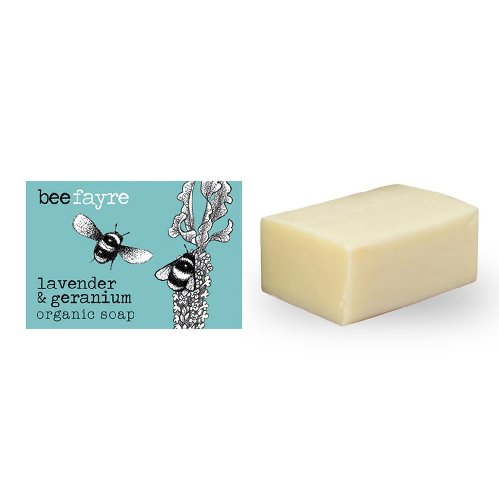 Beefayre - Bee Wild - Wild Fig - Triple Milled Organic Soap - 100g