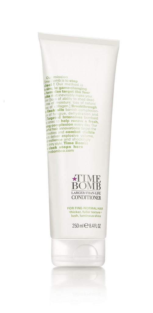 TIME BOMB - Operation Glam - Larger Than Life Conditioner - Fine to Normal Hair - 75 or 250ml