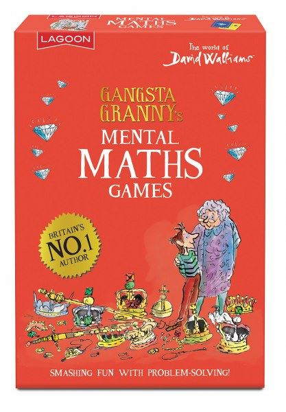 David Walliams - Gangsta Granny's Mental Maths Games - Lagoon Group