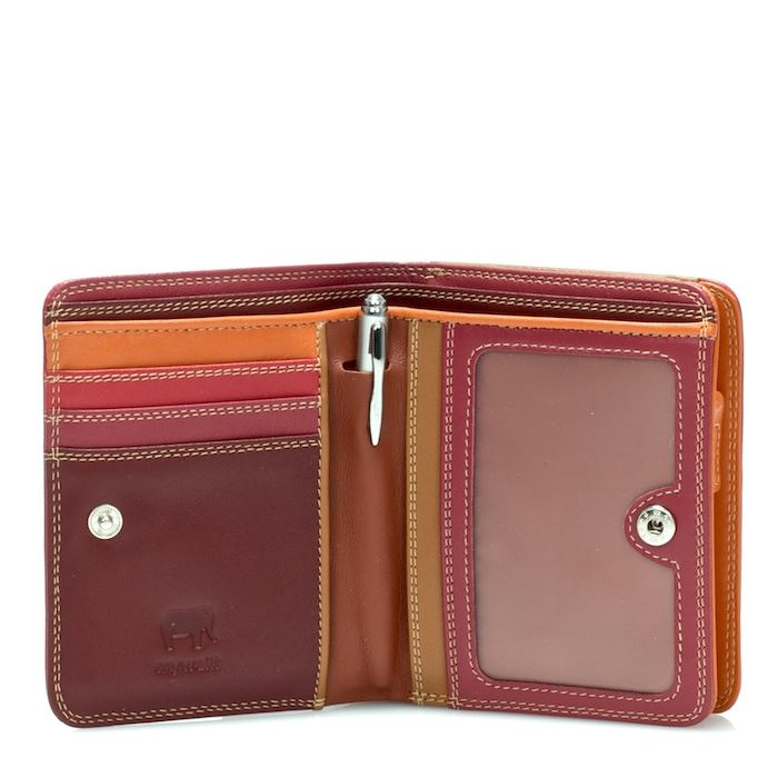 Leather Medium Wallet With Zip Around Purse 231 - MyWalit - Various Colours Available