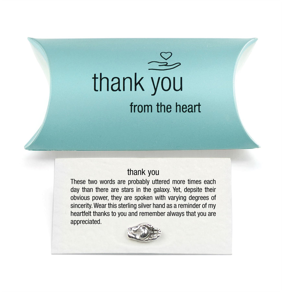 Sterling Silver Thank You - Tales From The Earth - Pillow Pack - Perfect Teacher Gift