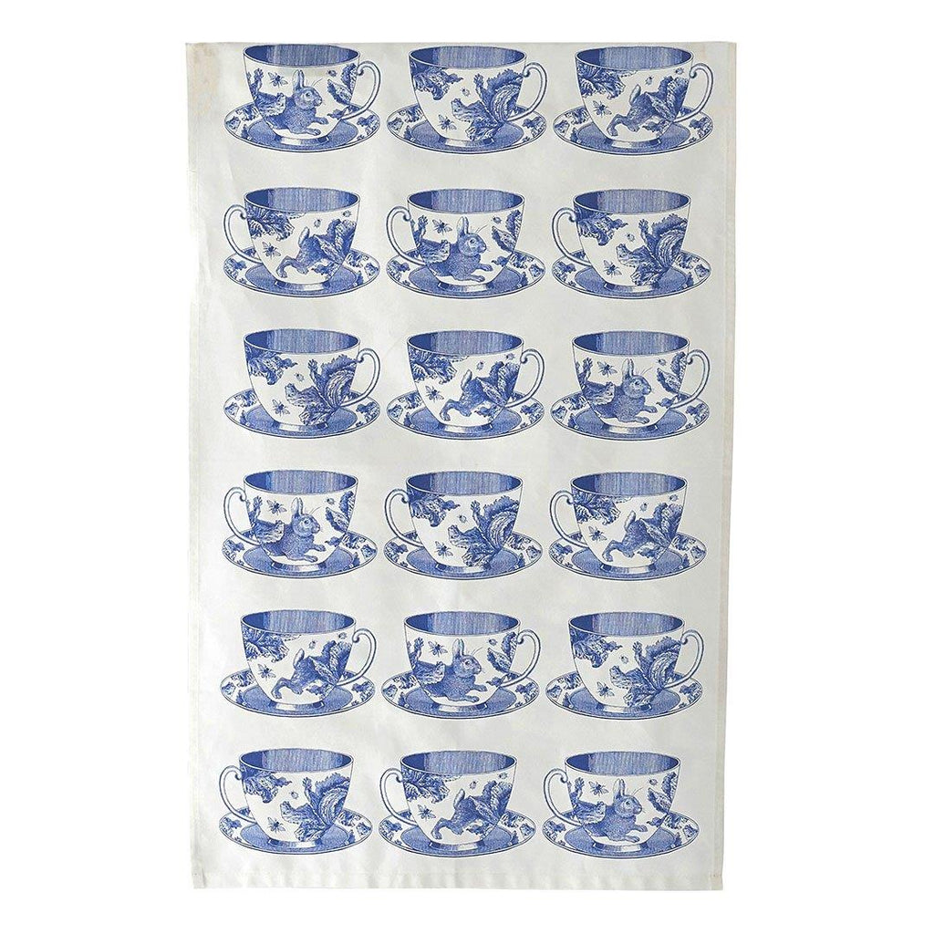 Thornback & Peel - 100% Cotton - Tea Towel - 47 x 77cms - Teacups