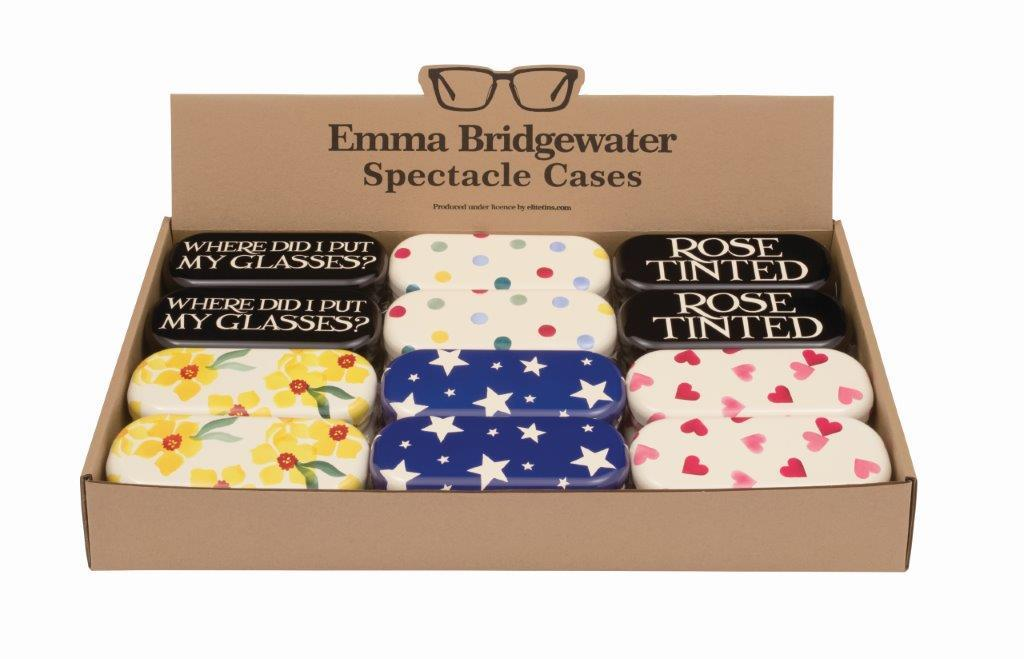 Emma Bridgewater - Spectacle/Glasses Tin Case - Sold Individually/Choice of 6 Designs