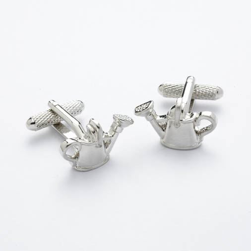 Novelty Cufflinks - Watering Can - CK238 - Onyx Art
