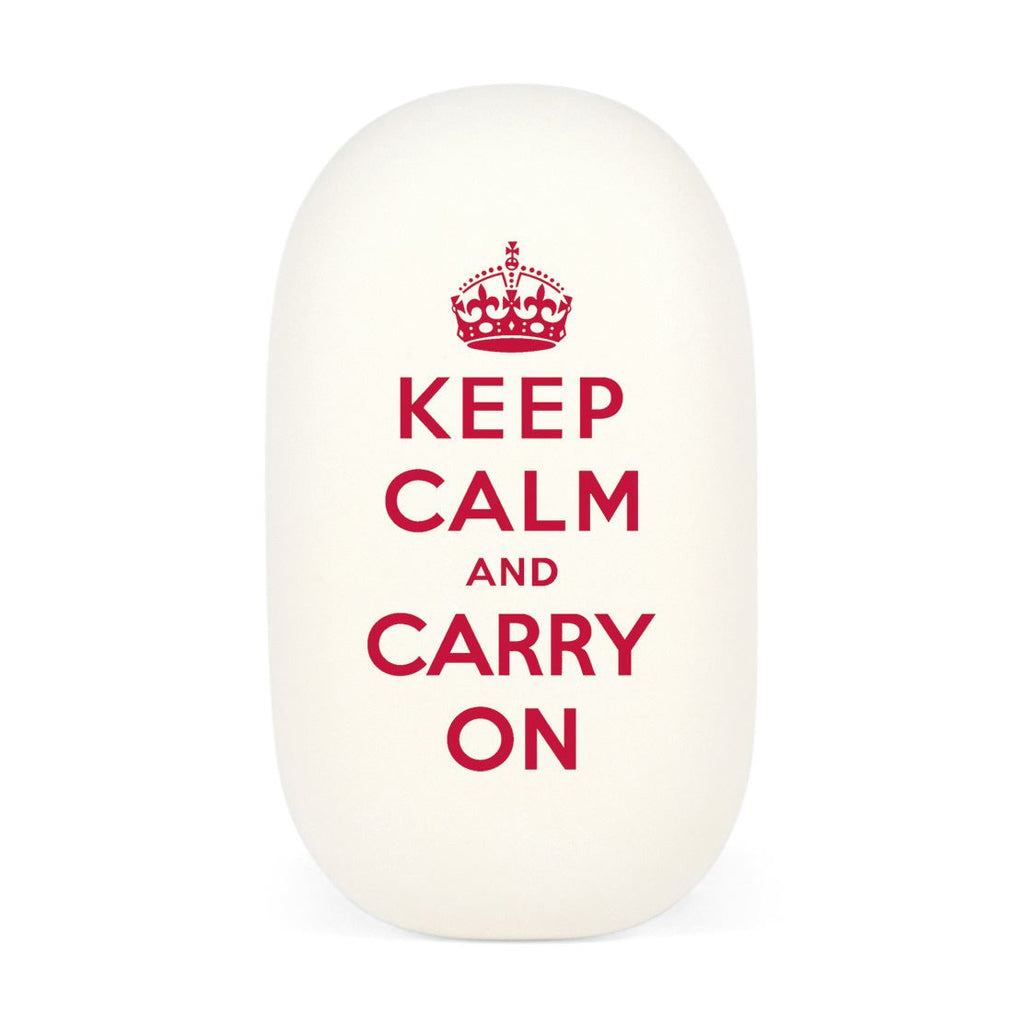 Cavallini - Eraser/Rubber Tablet - Keep Calm And Carry On - High Quality Rubber Eraser