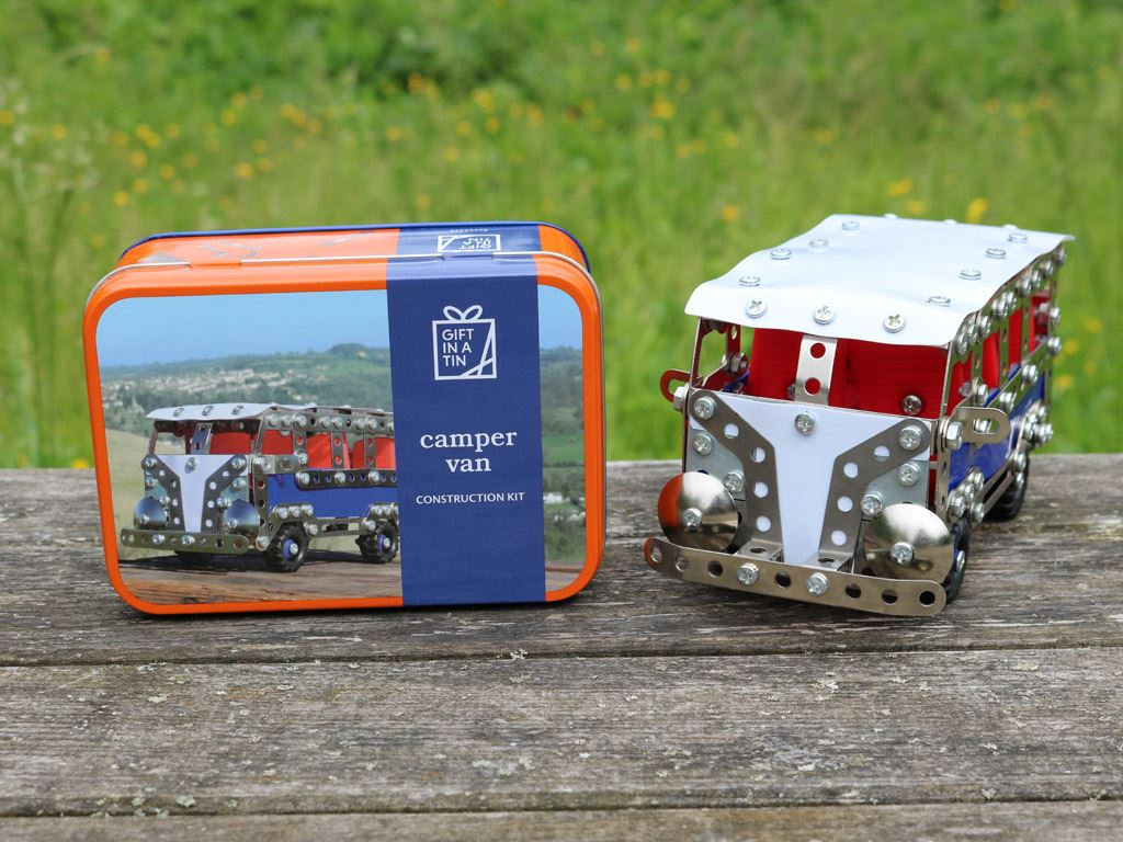 Apples To Pears - Build - Gift In A Tin - Camper Van Construction Kit