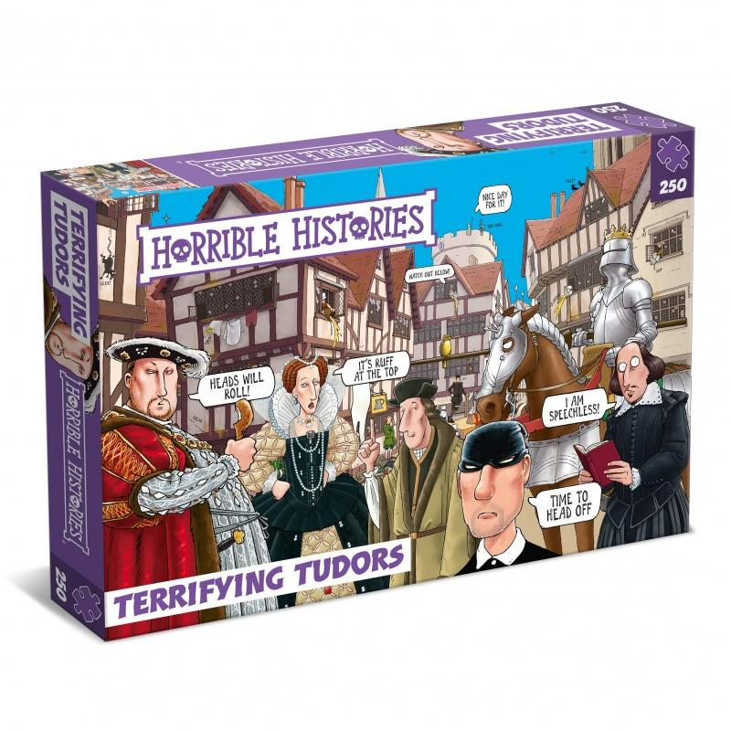 Horrible Histories - 250 Piece Jigsaw Puzzle - Terrifying Tudors 1485 - 1603