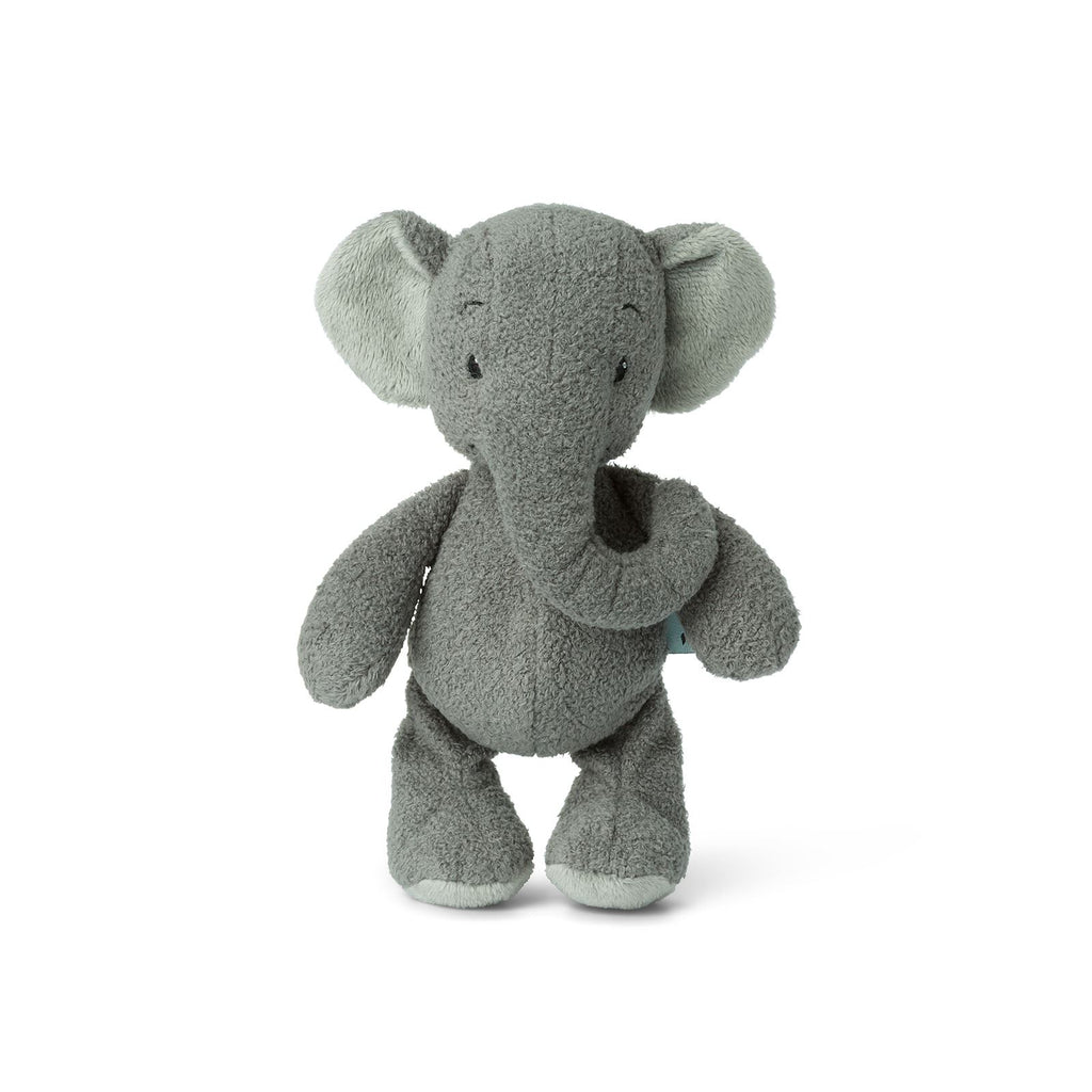 WWF Cub Club - Bon Ton Toys - Ebu The Elephant w/Crinkly Ears - Grey - 22cms - Suitable From Birth