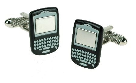 Novelty Cufflinks - Blackberry - CK551 - Onyx Art