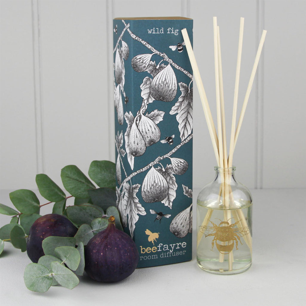 Beefayre Bee Festive - Wild Fig - Room Diffuser - 100ml - Alcohol Free/Vegan Friendly