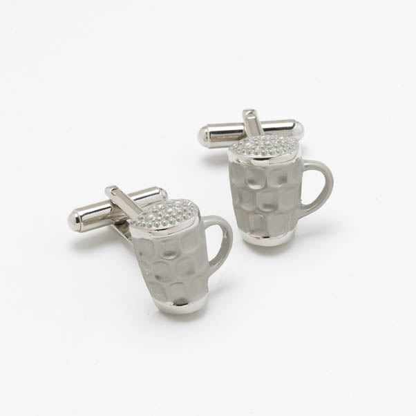 Novelty Cufflinks - Beer Mug - CK76 - Onyx Art