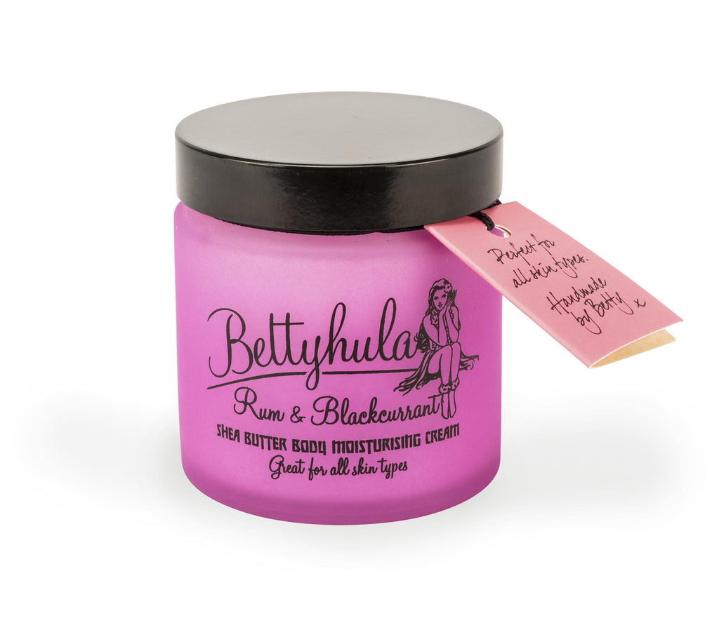 Bettyhula - Shea Butter Body Moisturiser - Rum & Blackcurrant - 120ml