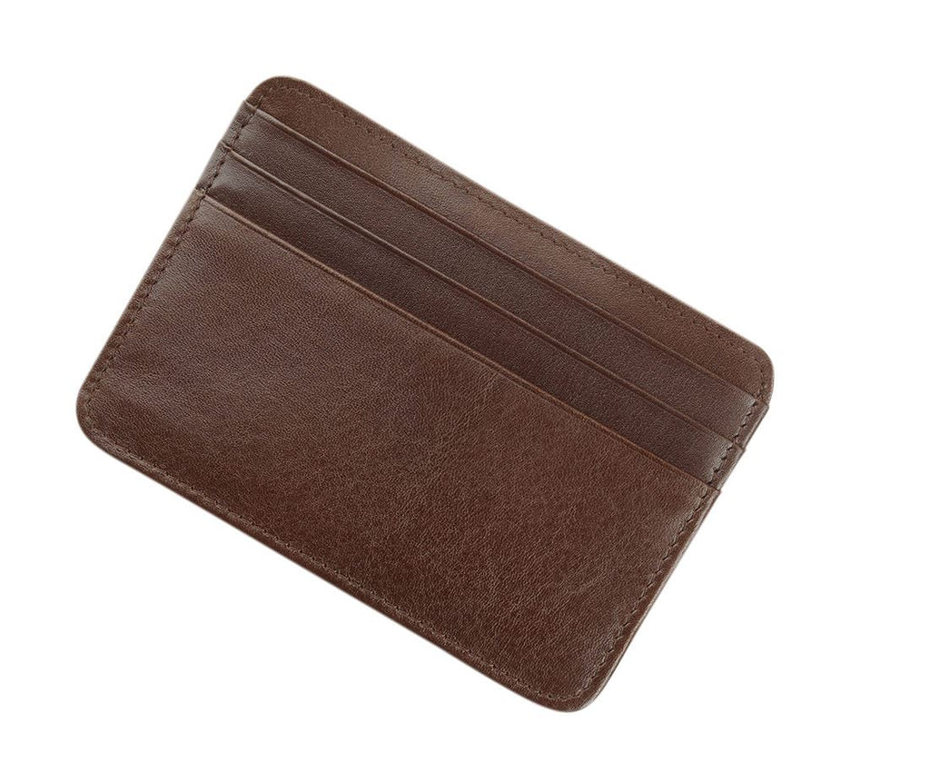 Byron & Brown - Gentleman's Credit Card Holder - Smooth Italian Leather - Gift Boxed - 3 Colours