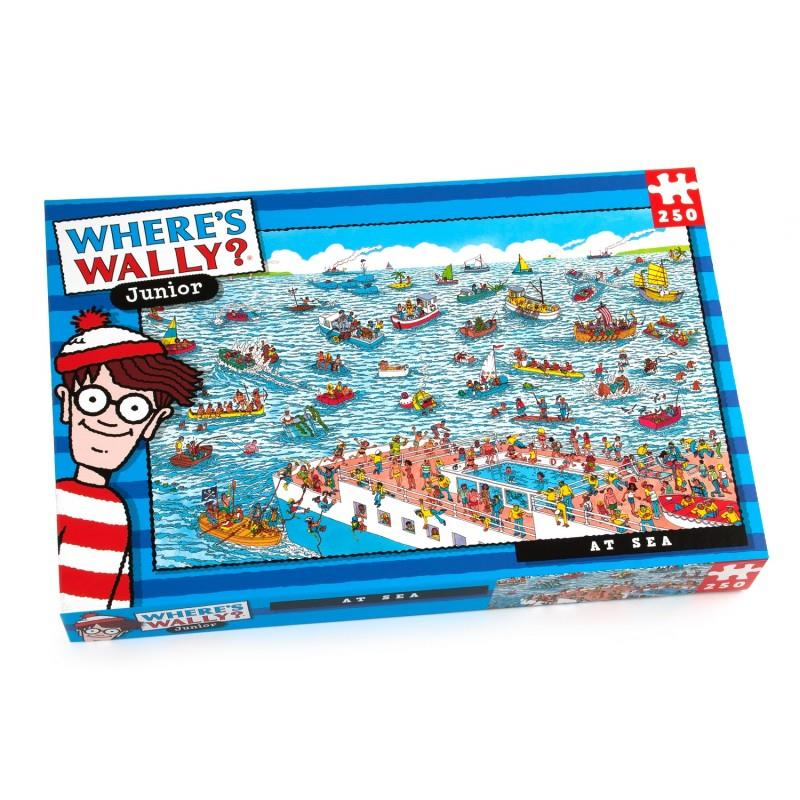 Where's Wally Junior - 250 Piece Jigsaw Puzzle - At Sea