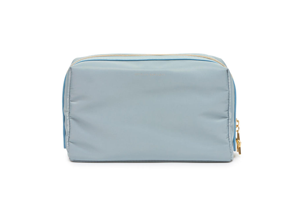Toiletries/Make Up Bag - Pale Powder Blue - Enjoy The Little Things  - 24x12x10cms - Estella Bartlett
