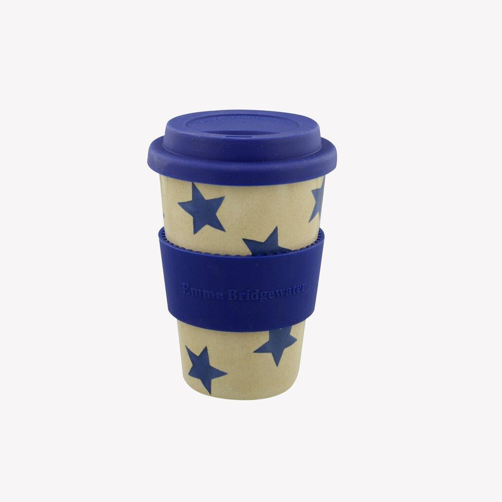 Emma Bridgewater - Rice Husk Reusable Travel Cup 435ml - Blue Starry Skies