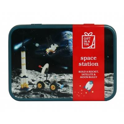 Apples To Pears - Build - Gift In A Tin - Space Station Construction Set