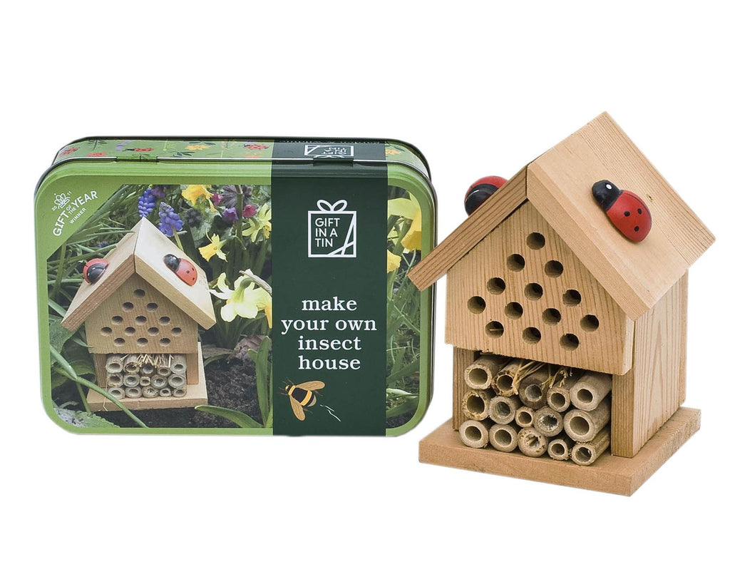 Apples To Pears - Garden & Wildlife - Gift In A Tin - Make Your Own Insect House/Bug House