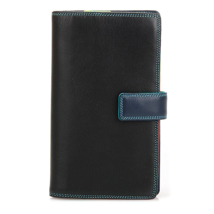 Leather Tab Wallet With Zipped Compartment 1224 - MyWalit - Various Colours Available
