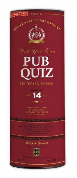 Host Your Own Pub Quiz In Your Own Home - 700 Questions/10 Categories - Lagoon Group