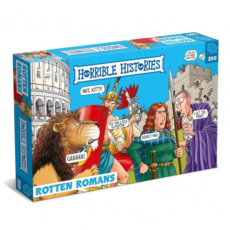 Horrible Histories - 250 Piece Jigsaw Puzzle - Rotten Romans 753 BC - AD 1453