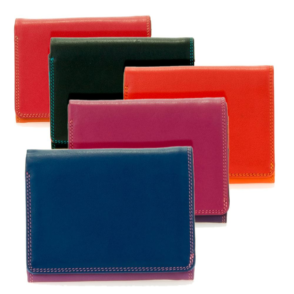 Leather Flapover Coin Purse 370 - MyWalit - Various Colours Available