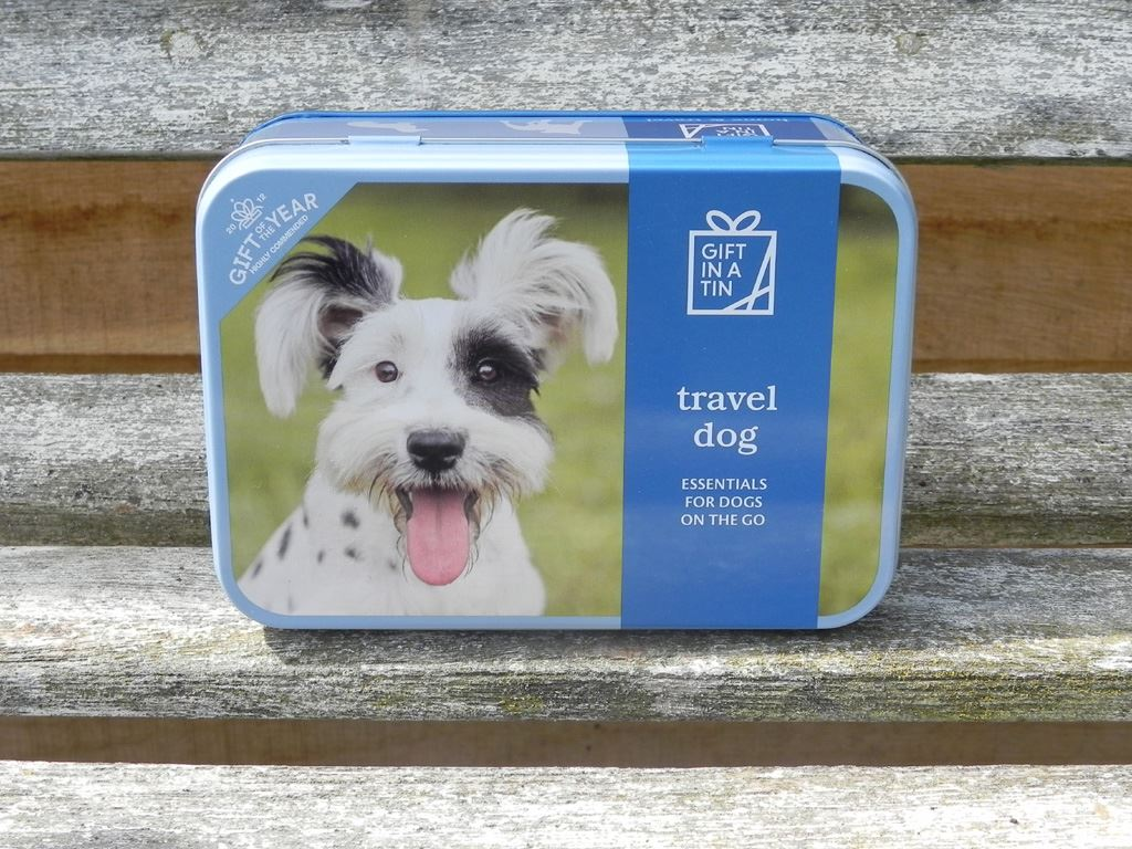 Apples To Pears - Home & Travel - Gift In A Tin - Travel Dog