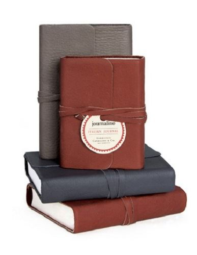 Cavallini - Leather Journalino - 4 Colour Options - Medium - 4x5.25ins - 352 pages