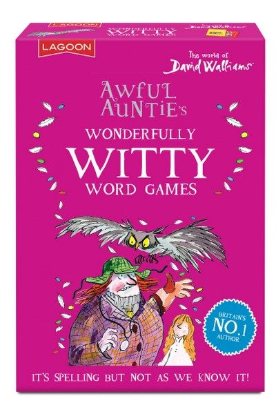 David Walliams - Awful Auntie's Wonderfully Witty Word Games - Lagoon Group