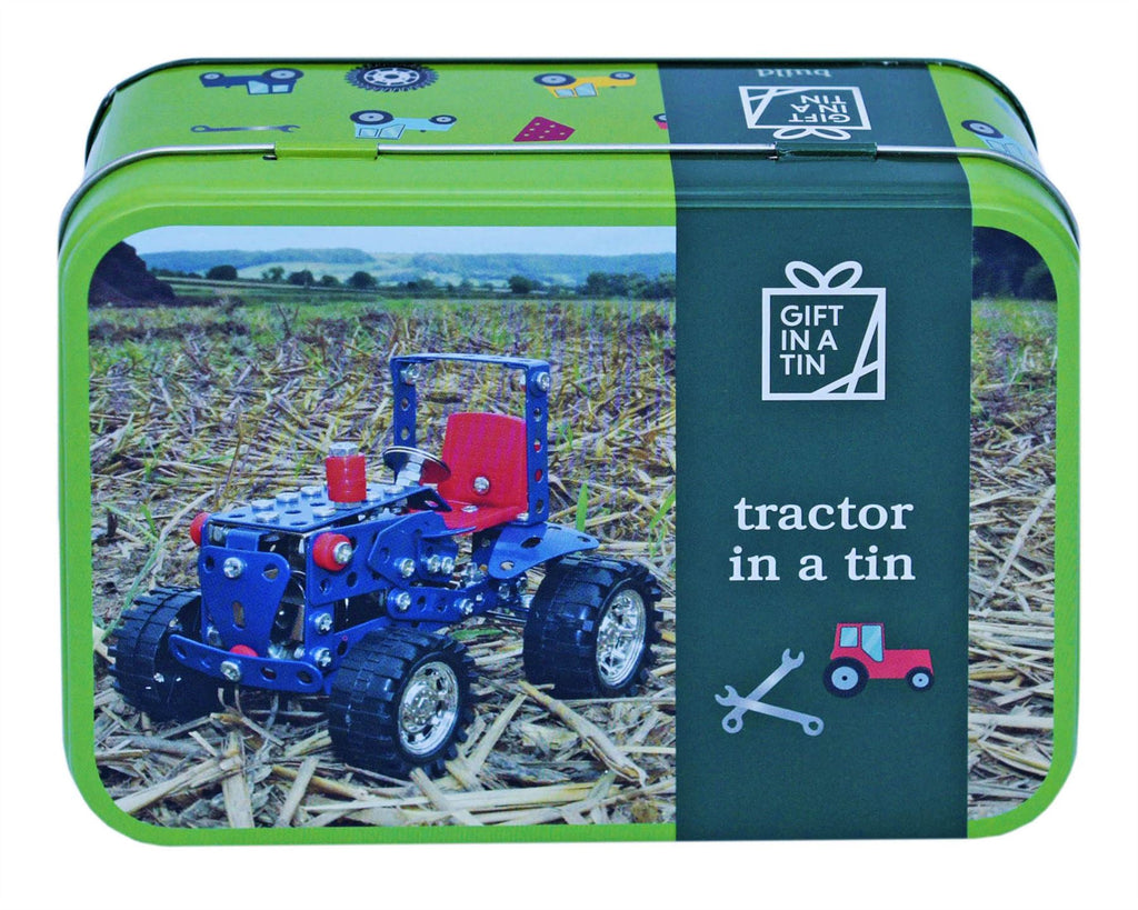 Apples To Pears - Build - Gift In A Tin - Tractor in A Tin Construction Kit
