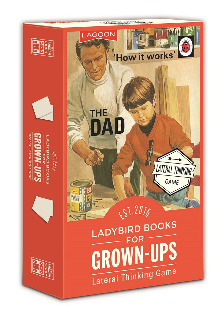 Ladybird Books For Grown Ups - Lateral Thinking Game - 100+ Questions - Lagoon Group