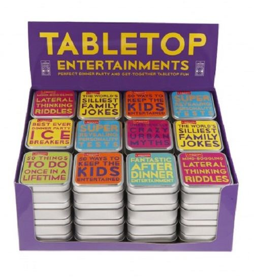 Lagoon - Table Top Trivia & Entertainment - 8 Designs Available