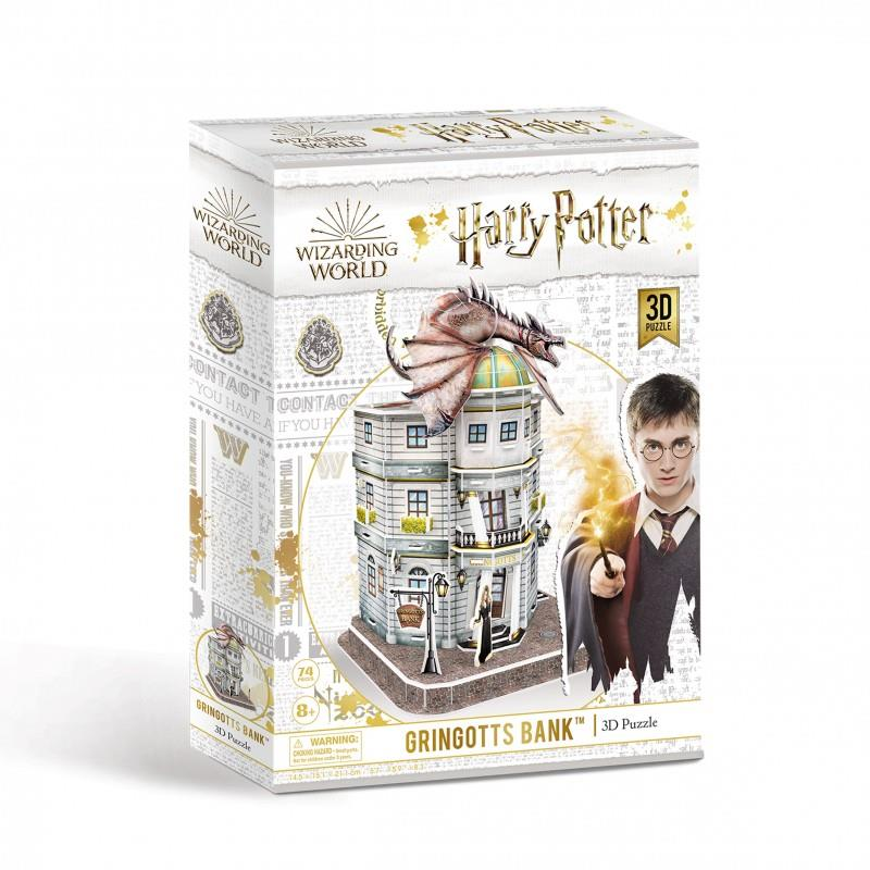 Harry Potter's Wizarding World - 3D Jigsaw Puzzles - Gringotts Bank