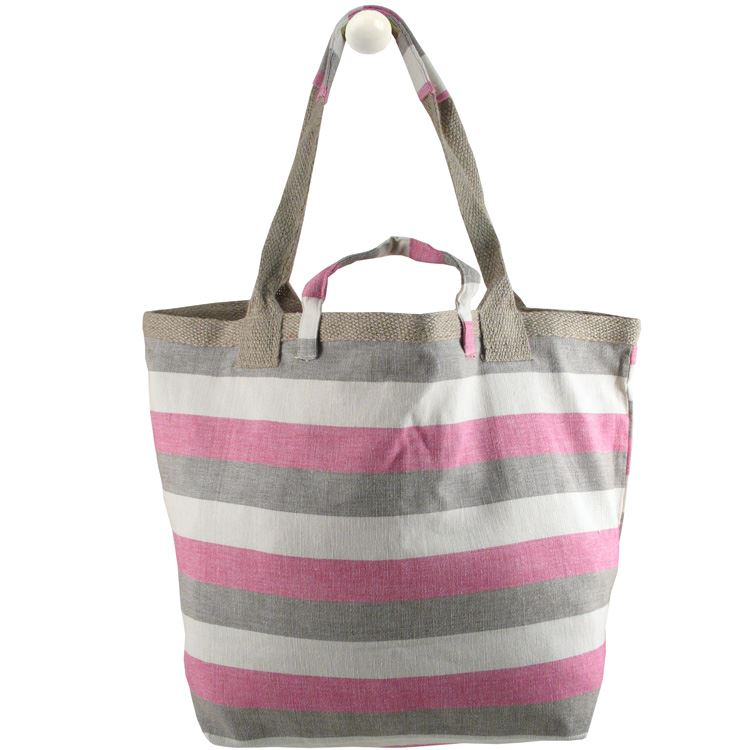 Bill Brown - Back To Basics Beach Bag - Pink, Brown & Cream BB91
