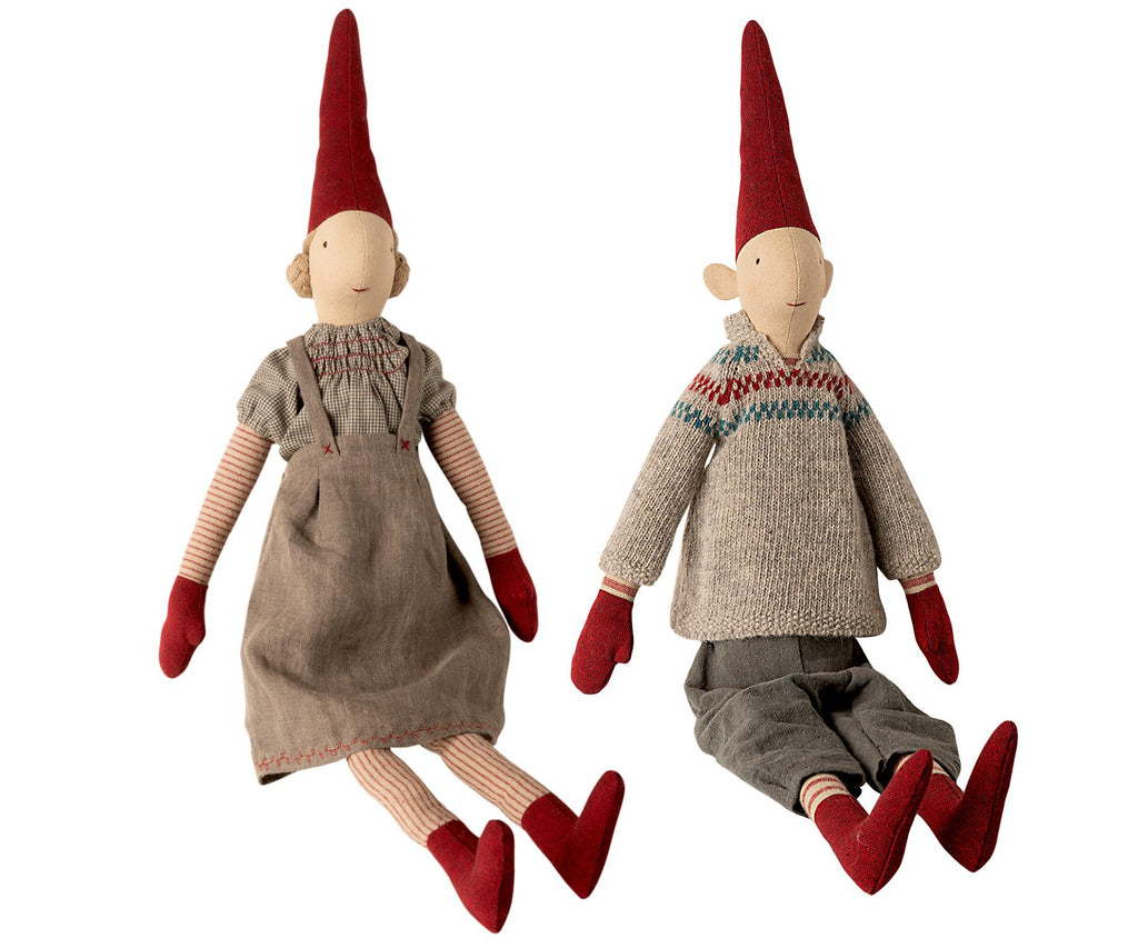 Maileg - Danish Nisse Pixy 2020 (0441) - Maxi 65cms - Available in Boy or Girl