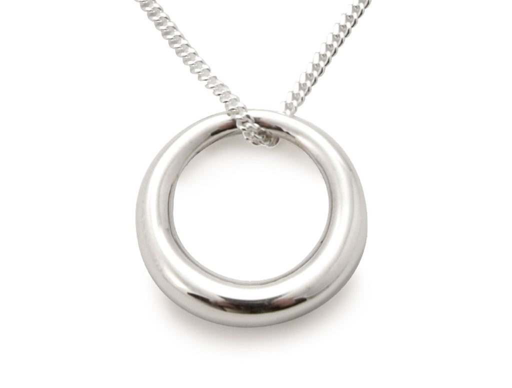 Sterling Silver - Circle of Life Pendant - Tales From The Earth - Presented In Pale Blue Gift Box