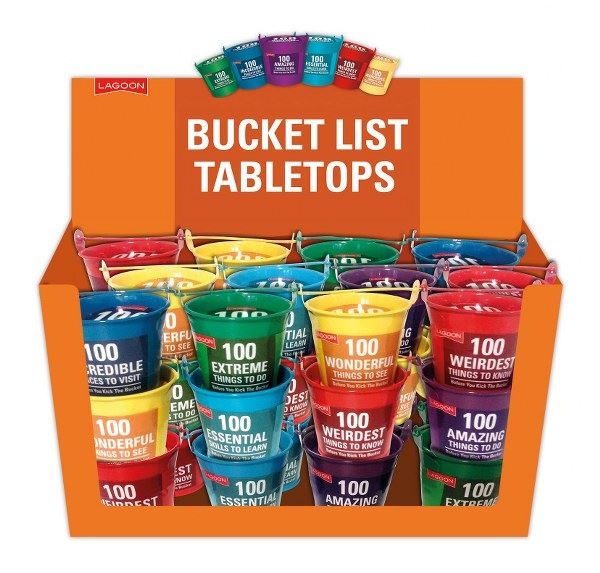 Lagoon - Before You Kick The Bucket - Set of 6 Buckets/1 Of Each Design