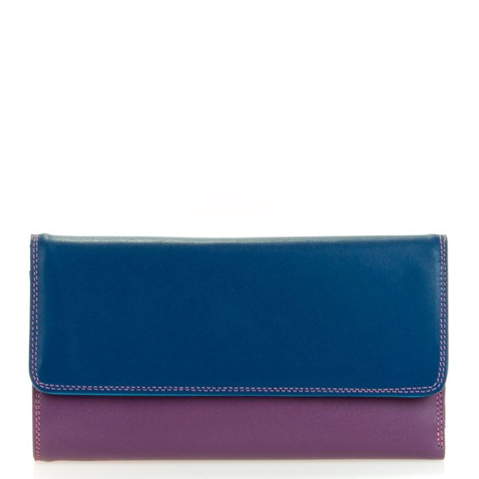 Leather Tri-Fold Wallet With Outer Zip Purse 269 - MyWalit - Various Colours Available