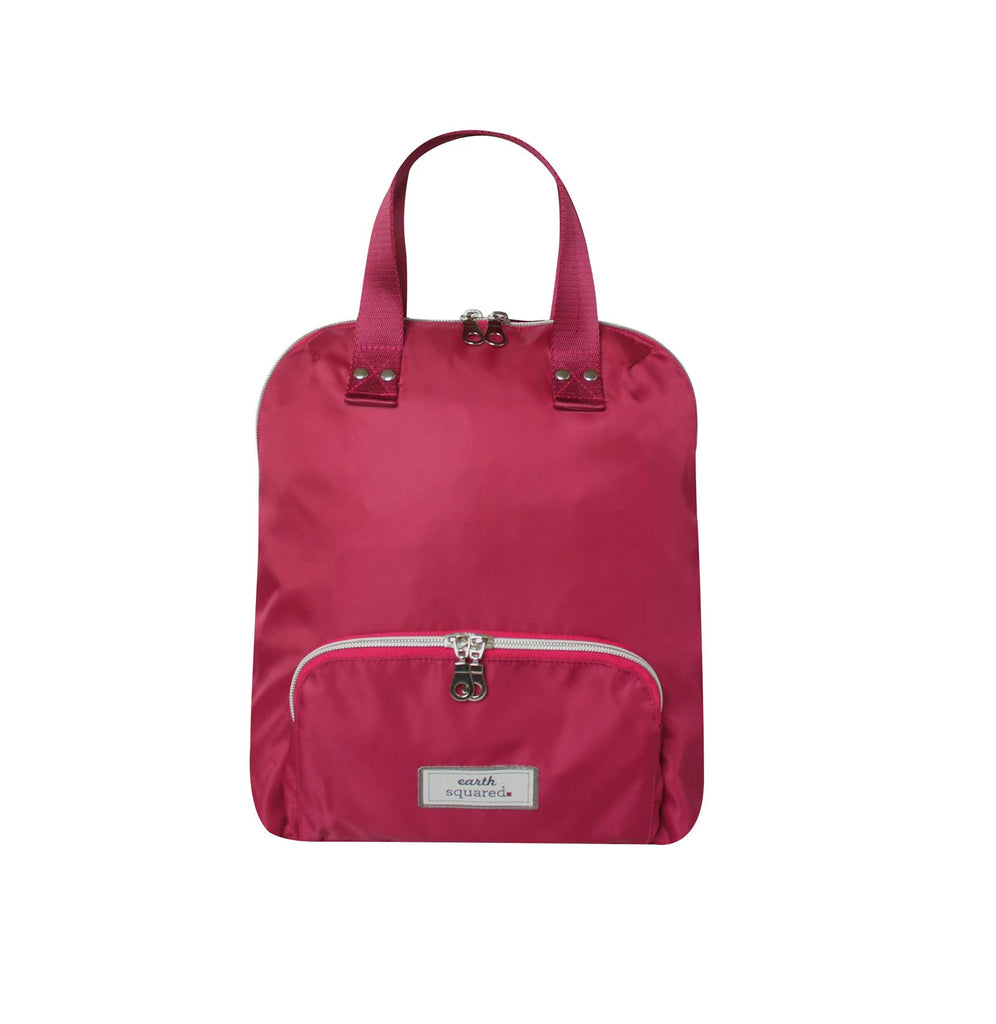 Earth Squared - Small Voyage Backpack - Pink - 31x28x8cms