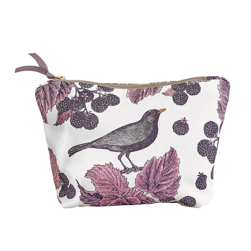 Thornback & Peel - Cosmetic/Make-Up Bag - Blackbird & Bramble - Available In 2 Sizes