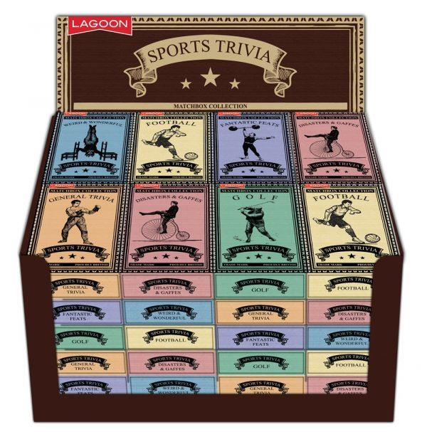 Lagoon - Matchbox Collection - Sports Trivia - Available in 6 Designs