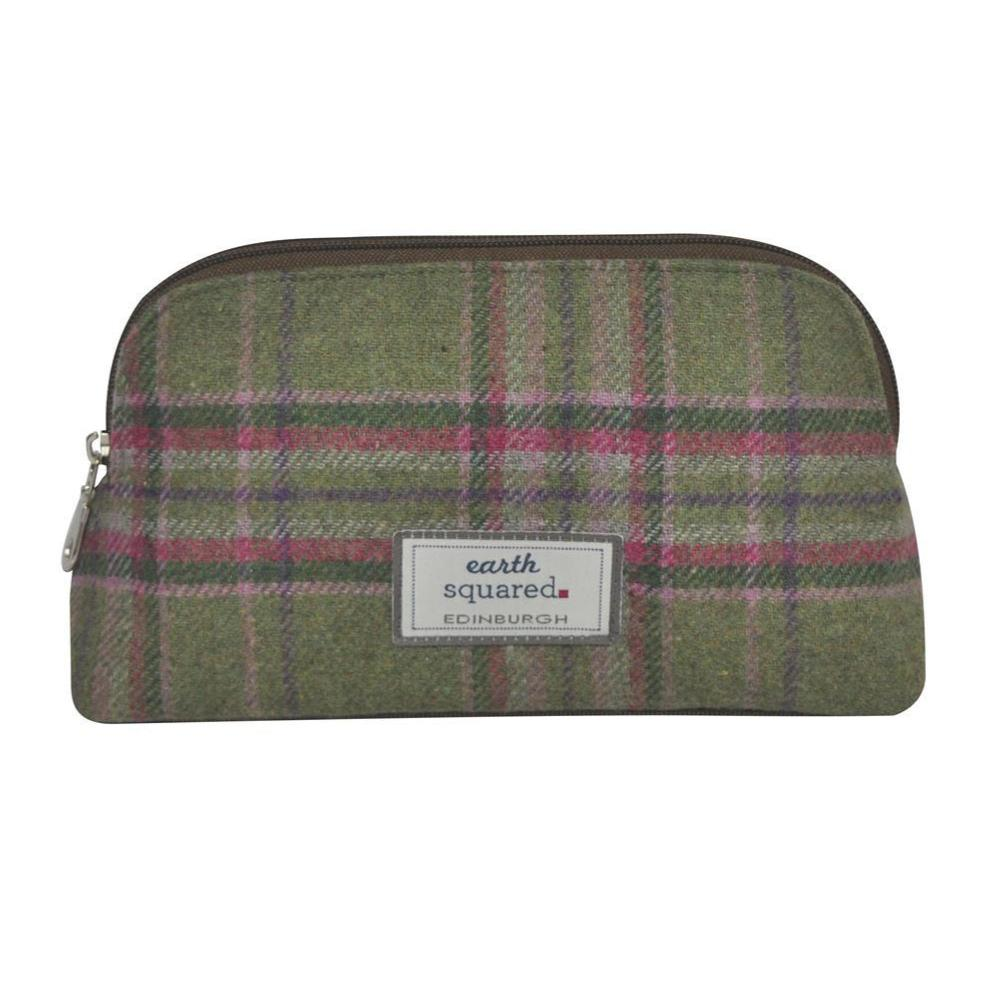 Earth Squared - Make-Up Bag - Tweed Wool - Moorland - 23x13x8cms