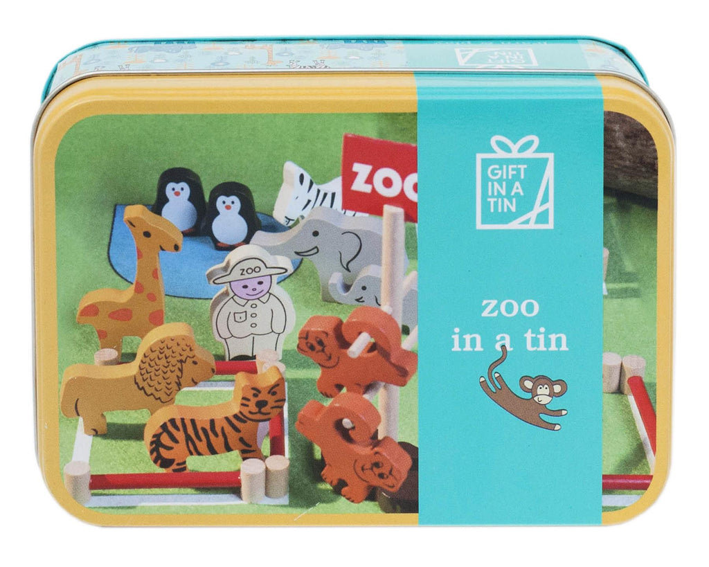 Apples To Pears - Learn & Play - Gift In A Tin - Zoo In A Tin