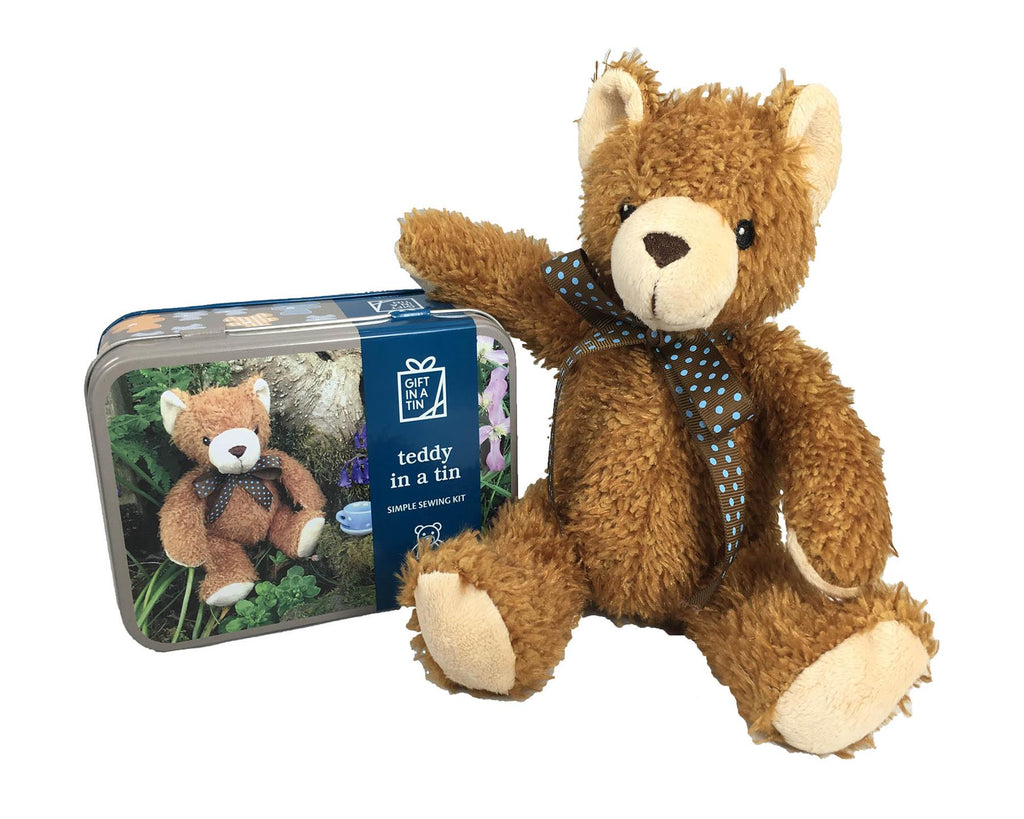Apples To Pears - Craft - Gift In A Tin - Sew Me Up Teddy In A Tin - Travel Bear